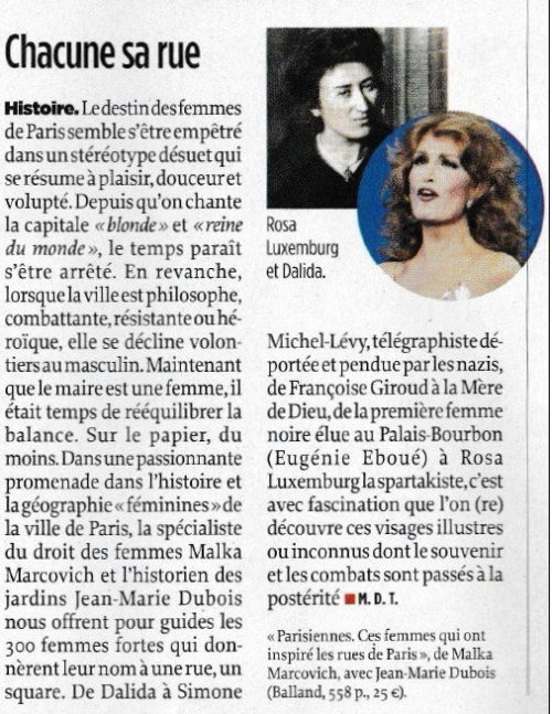 Le point 18 janvier 2018